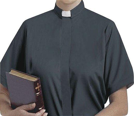 Camisa Clerical Feminina MC GD0001