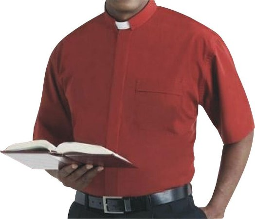Camisa Clerical MC GD 0005