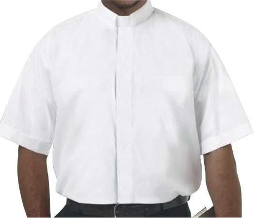 Camisa Clerical MC GD 0002