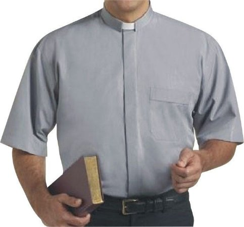 Camisa Clerical MC GD 0003