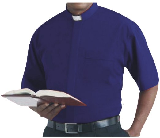 Camisa Clerical MC GD 0004