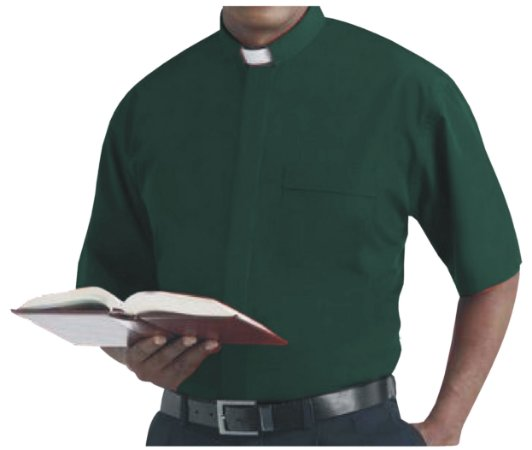 Camisa Clerical MC GD 0006
