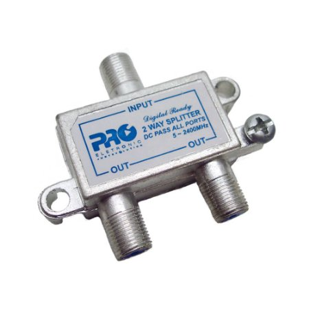 DIVISOR COAXIAL 1X2 - 5-2400 MHZ