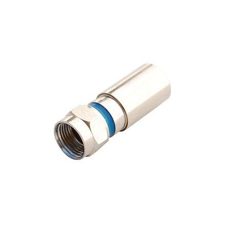 CONECTOR F COMPRESSAO RG6 / PRO6 20,3MM PROFISSIONAL