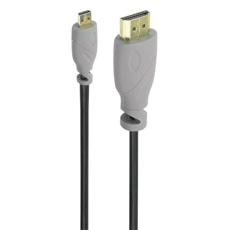 CABO MICRO HDMI MACHO X HDMI MACHO 2.0 4K HDR 19P 2 METROS
