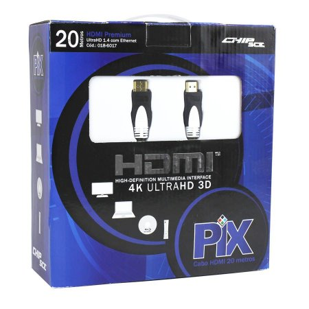 CABO HDMI GOLD 1.4 4K ULTRAHD 15P 20 METROS