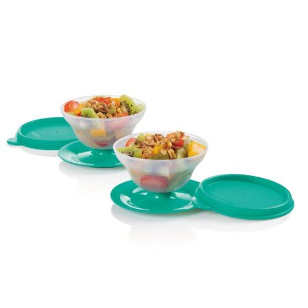 Tupperware Tacinha Sobremesa 130ml Verde kit 2 peças
