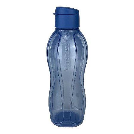 Garrafa Tupperware Eco Tupper Plus Azul Jeans 1 litro