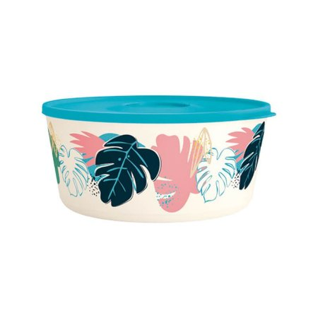 Tupperware Tigela Ilúmina Folhas Tropicais 4,3 litros