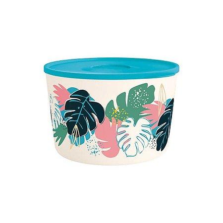 Tupperware Tigela Ilúmina Folhas Tropicais 6,6 litros