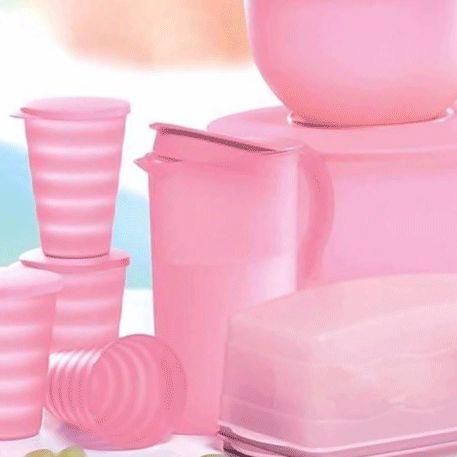 Tupperware Jarra Murano 2 Litros Rosa Quartzo