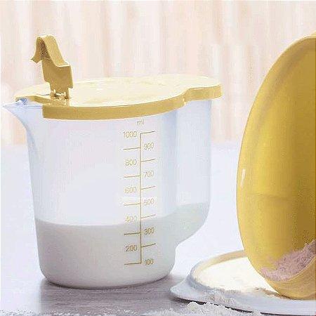 Tupperware Exata 1 Litro Amarela