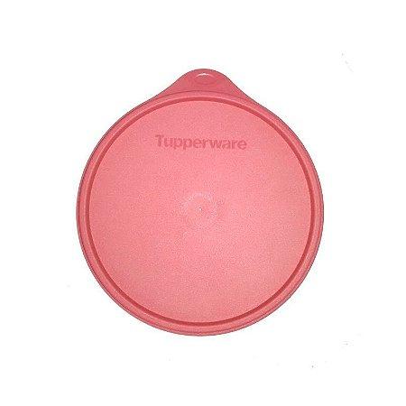 Tupperware Tampa Hermética Rosa para Caixa de Armazenagem 16 cm