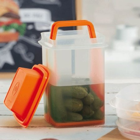 Tupperware Serve e Conserva 1,2 Litro Laranja