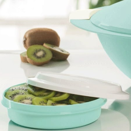Tupperware Travessa Redonda Actualité 500ml Verde Mint
