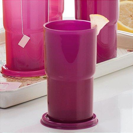 Tupperware Copo Colors 365 ml Roxo