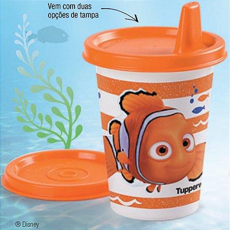 Tupperware Copinho com bico Nemo 200ml Laranja