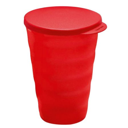 Tupperware Copo Murano 500ml Vermelho