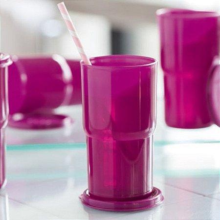 Tupperware Copo Colors 350ml Ameixa