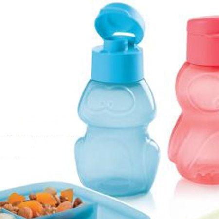 Tupperware Eco Kids Garrafa Sapo 350ml Azul