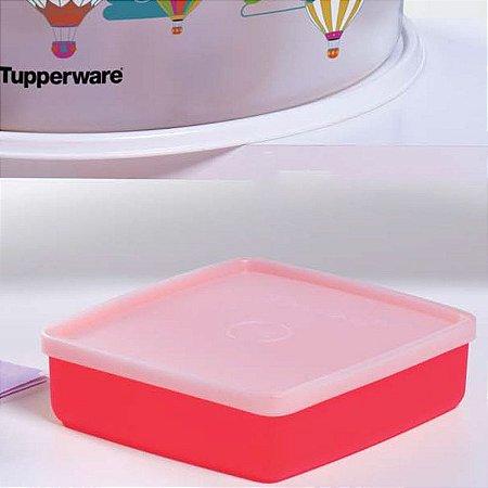 Tupperware Refri Box 400ml Vermelho