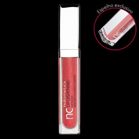 Nutrimetics Gloss Brilho Labial Peach 6,2 ml