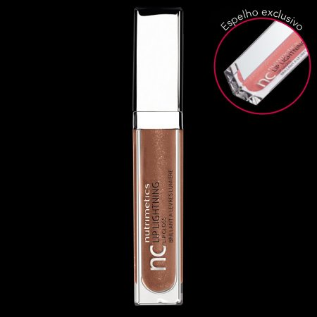 Nutrimetics Gloss Brilho Labial Bronze 6,2 ml