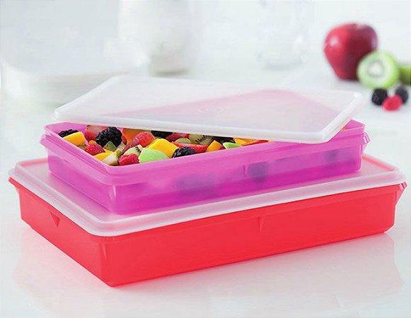Tupperware Refri Box N°3 Vermelhor 3,5 Litros