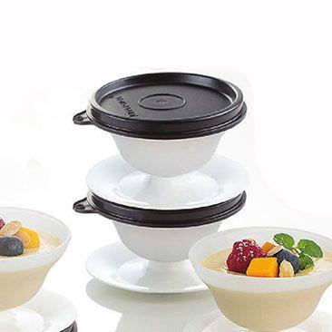 Tupperware Tacinha Para Sobremesa Preta