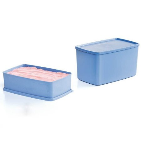 Tupperware Caixa Ideal + Espaçosa kit 2 Peças Azul Serenity
