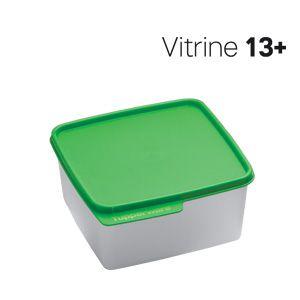 Tupperware Basic Line 1,2 Litro Tampa Verde