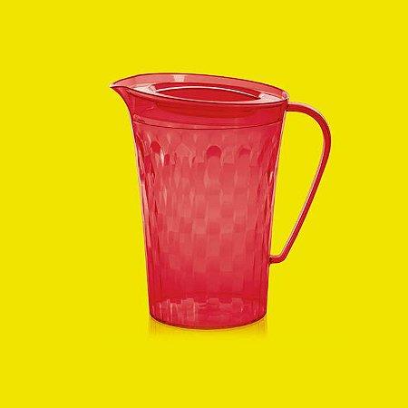 Tupperware Jarra Prisma 2 litros Vermelha