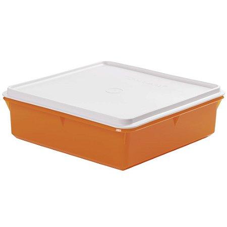 Tupperware Caixa Versátil 2,5 Litros Laranja