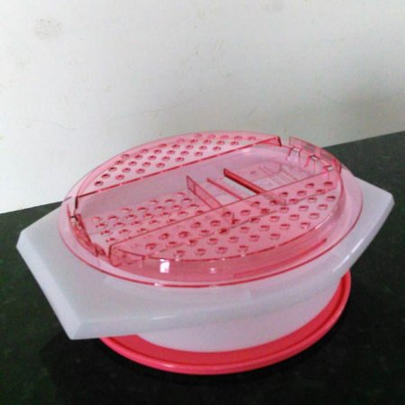 Tupperware Tupperware Prática 2 litros Rosa Transparete