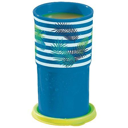 Tupperware Copo Colors Listrado 350ml Azul