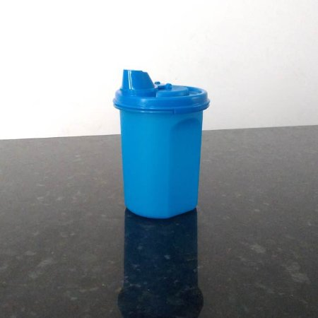 Tupperware Dispenser com Bico 400ml Azul Importado