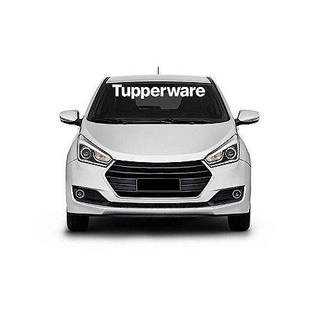 Adesivo Tupperware de Para-brisa Carro