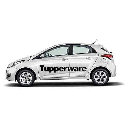 Adesivo Tupperware Lateral Carro