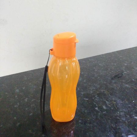 Tupperware Mini Eco Tupper 310ml Laranja Tampa Flip top