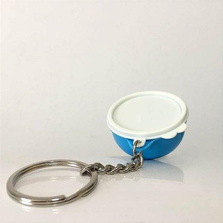 Tupperware Chaveiro Jumbo Azul Claro