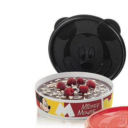 Tupperware Mickey Pratinho 500ml Branco e Preto