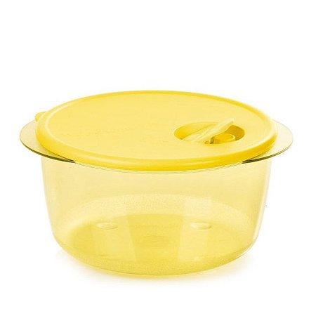 Tupperware Cristalware 2 litros Amarela Policarbonato
