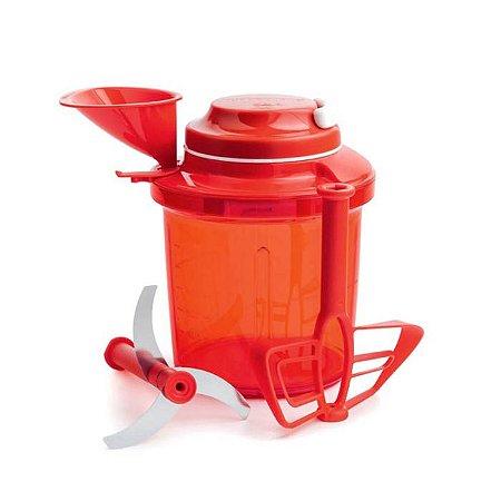 Tupperware Extra Chef 1 Litro Vermelho