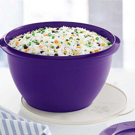 Tupperware Tigela Actualité 10 litros Roxa Púrpura