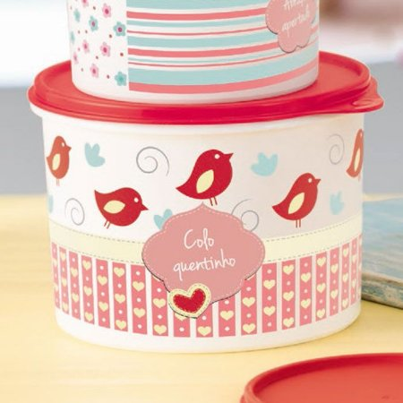 Tupperware Caixa Scrapbook 2,4 Litros