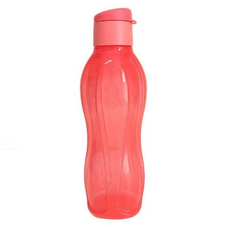 Tupperware Eco Tupper Garrafa 750ml Coral Flip top
