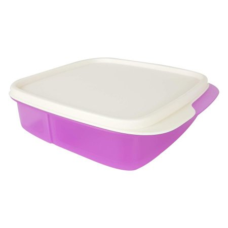 Tupperware Basic Line Com Divisórias Lilás 550ml