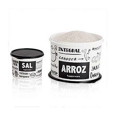 Tupperware Caixa Arroz PB 5kg + Sal PB 1,3kg