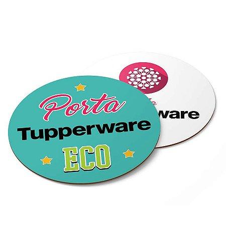 Porta Copo Personalizado Tupperware Couchê