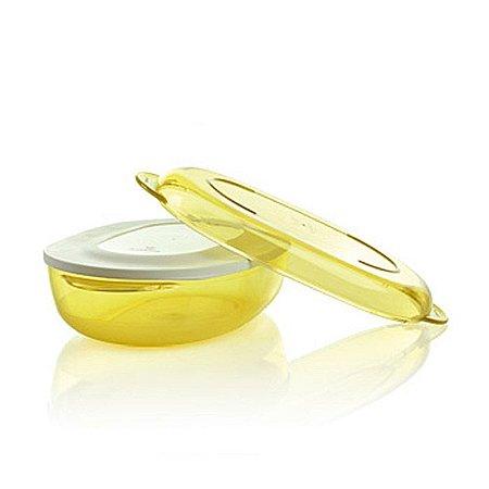 Tupperware Microplus Oval 1,5 litro Amarelo